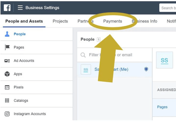 Add A Payment Method To Facebook Business Manager