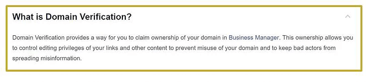 How To Verify Your Website Domain For Facebook Pages