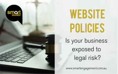 Website policies: is your business exposed to legal risk?